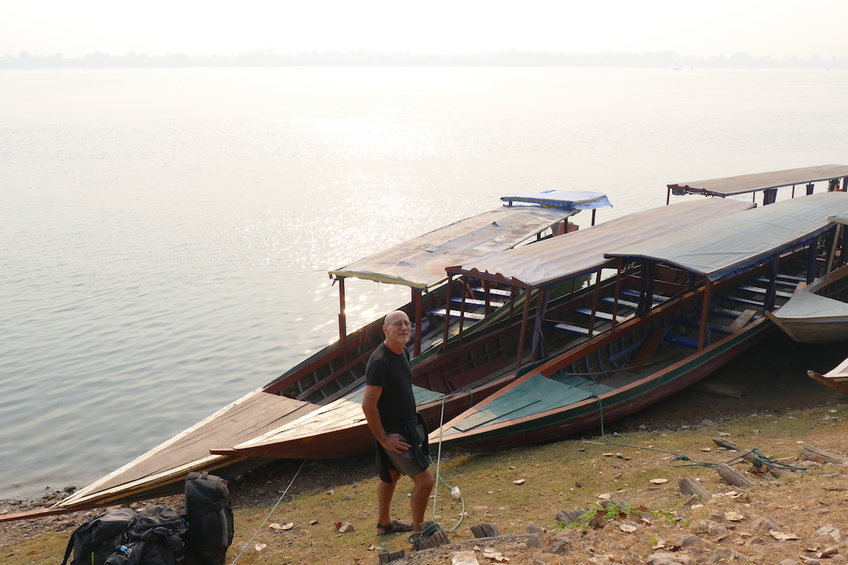 Si Phan Don, die nicht sehr vertrauenserweckenden Mekong-Faehren