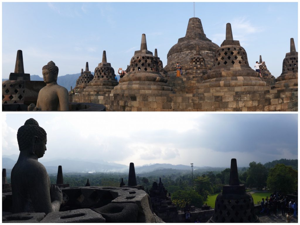 die Buddhas von Borobudur