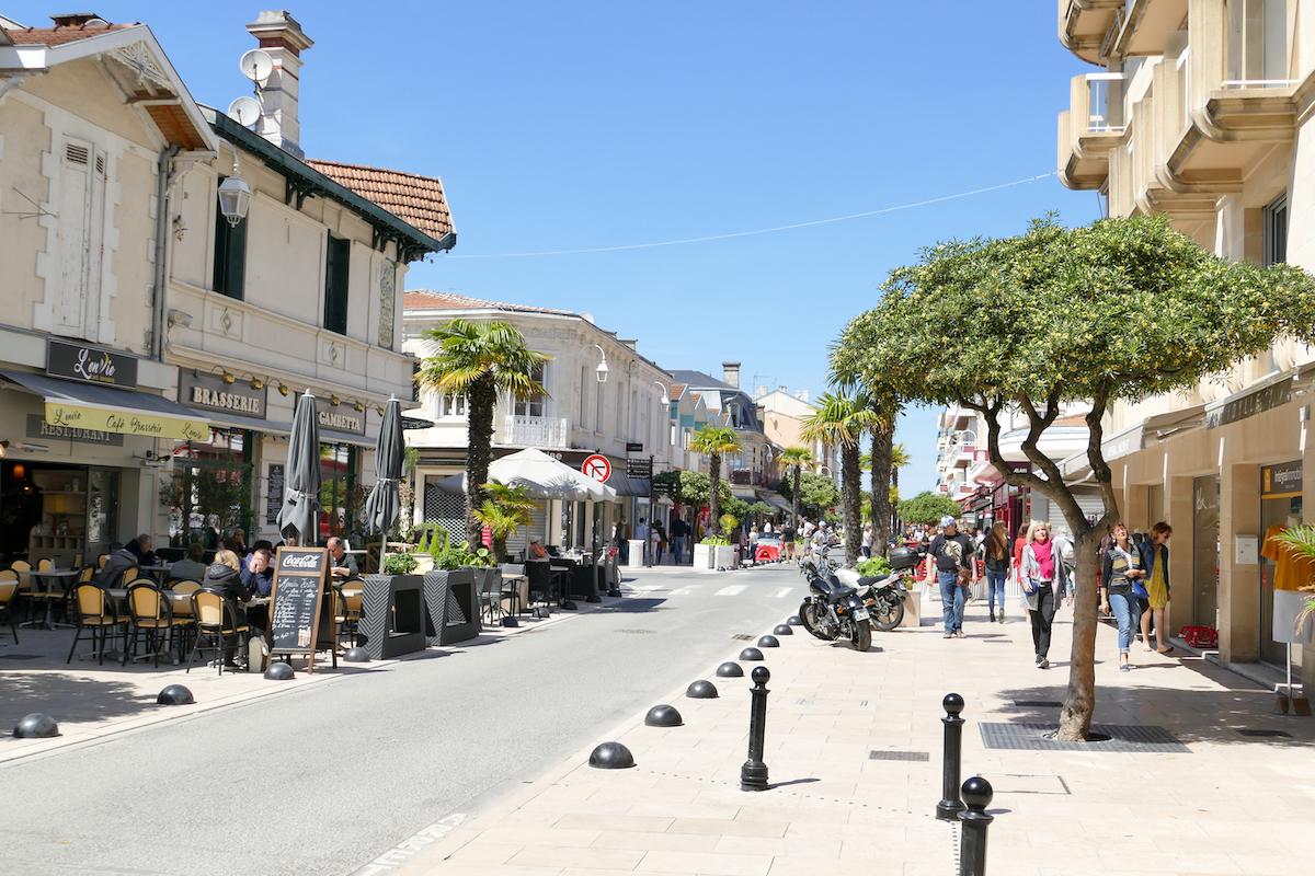 Arcachon, rue Gambetta