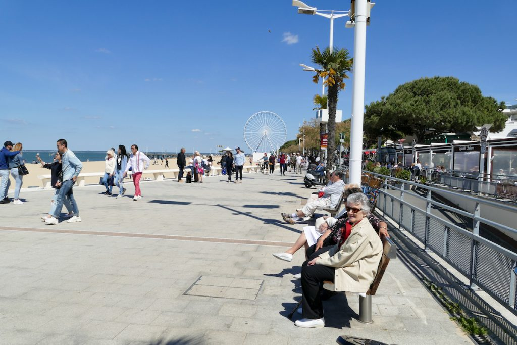 Arcachon Uferpromenade