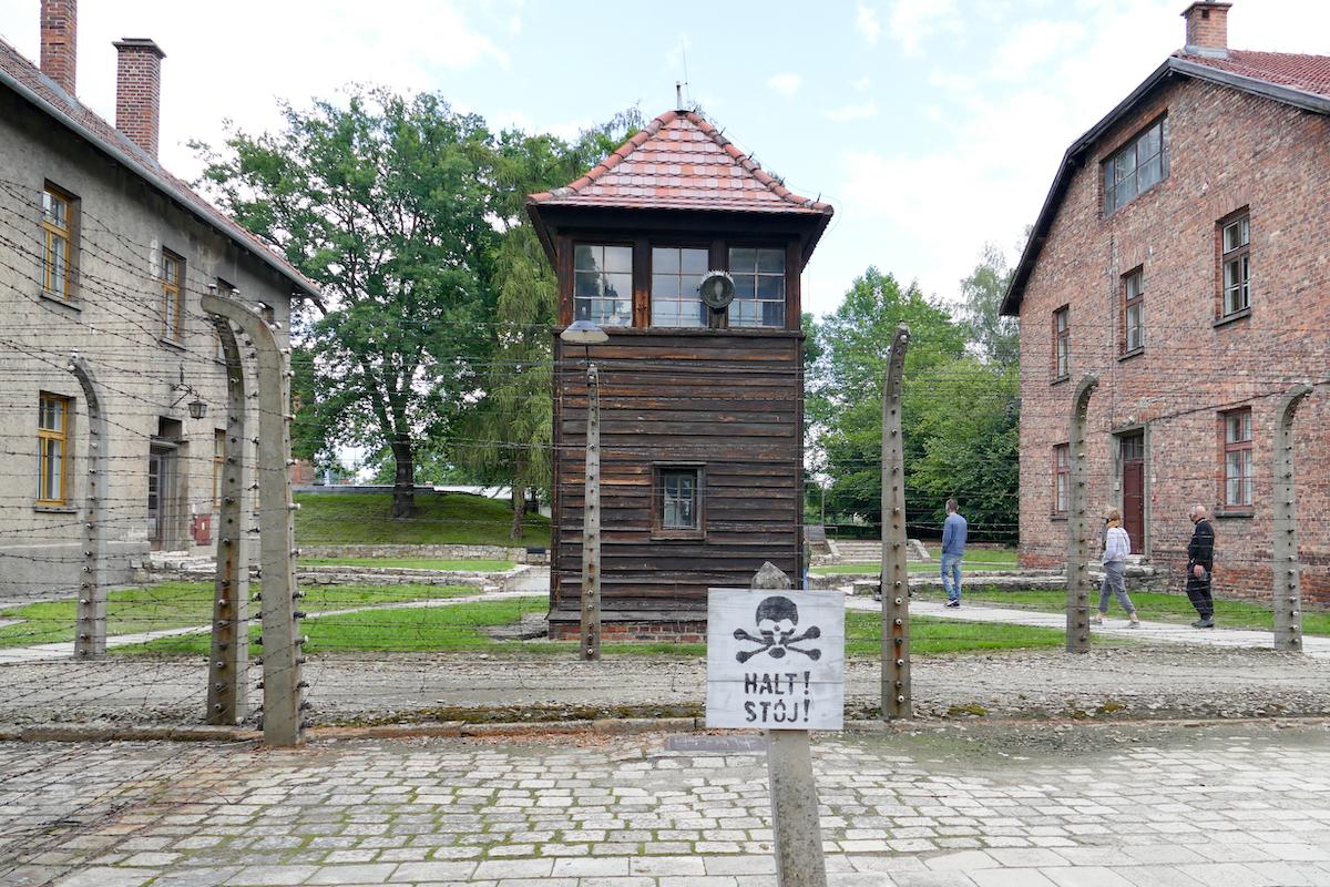 Auschwitz, kein Entkommen