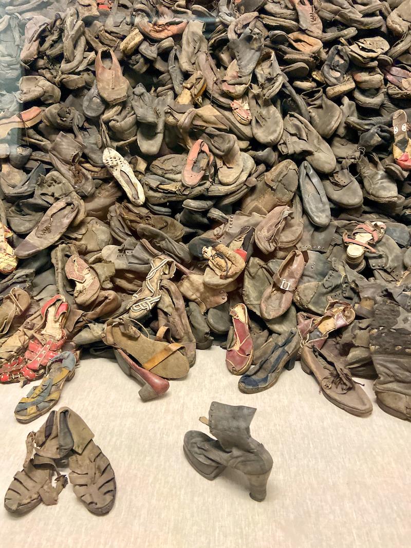 Auschwitz, unendlich viele Schuhe