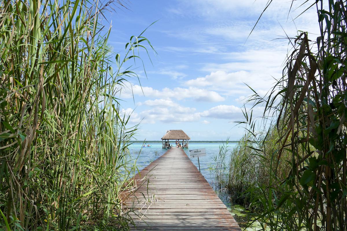 Bacalar, Lagune der 7 Farben