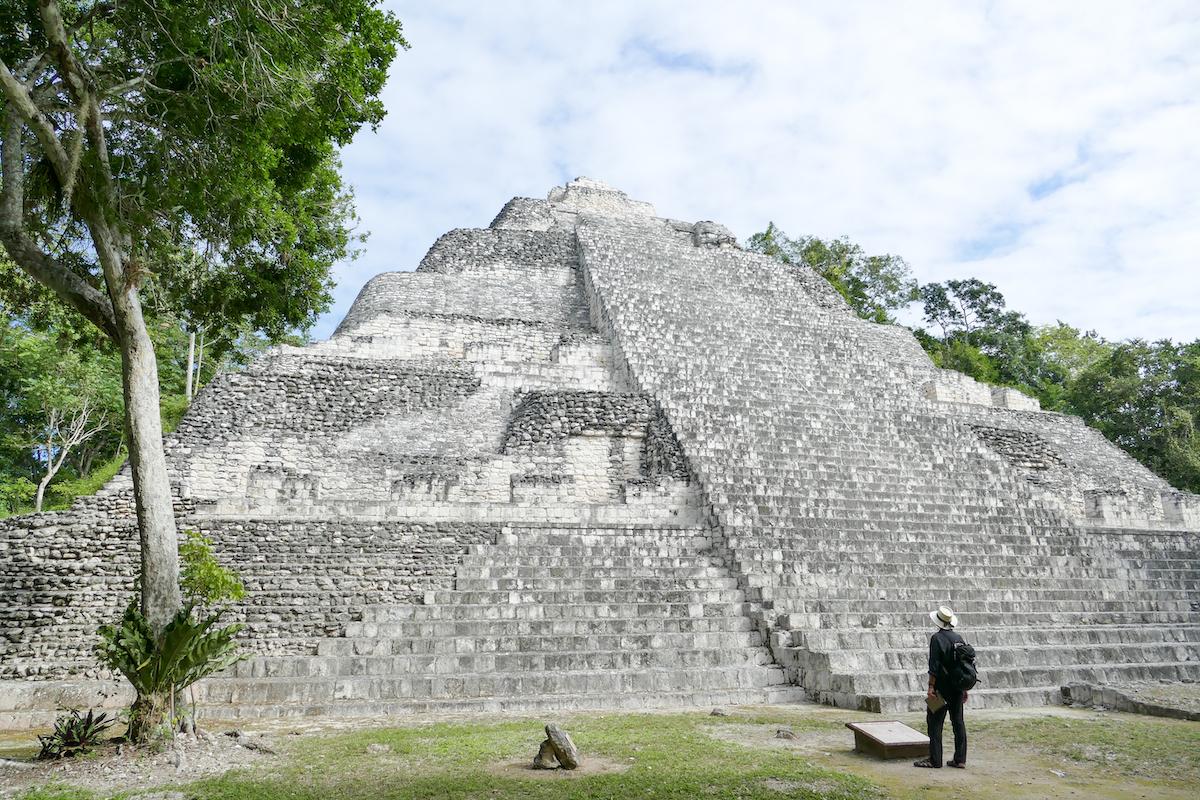 Becan, diese Pyramide darf noch bestiegen werden