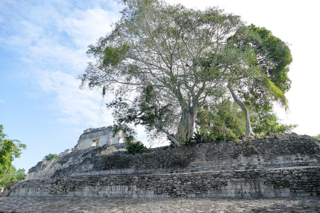 Becan, eine sehr beeindruckende Maya-Ruine