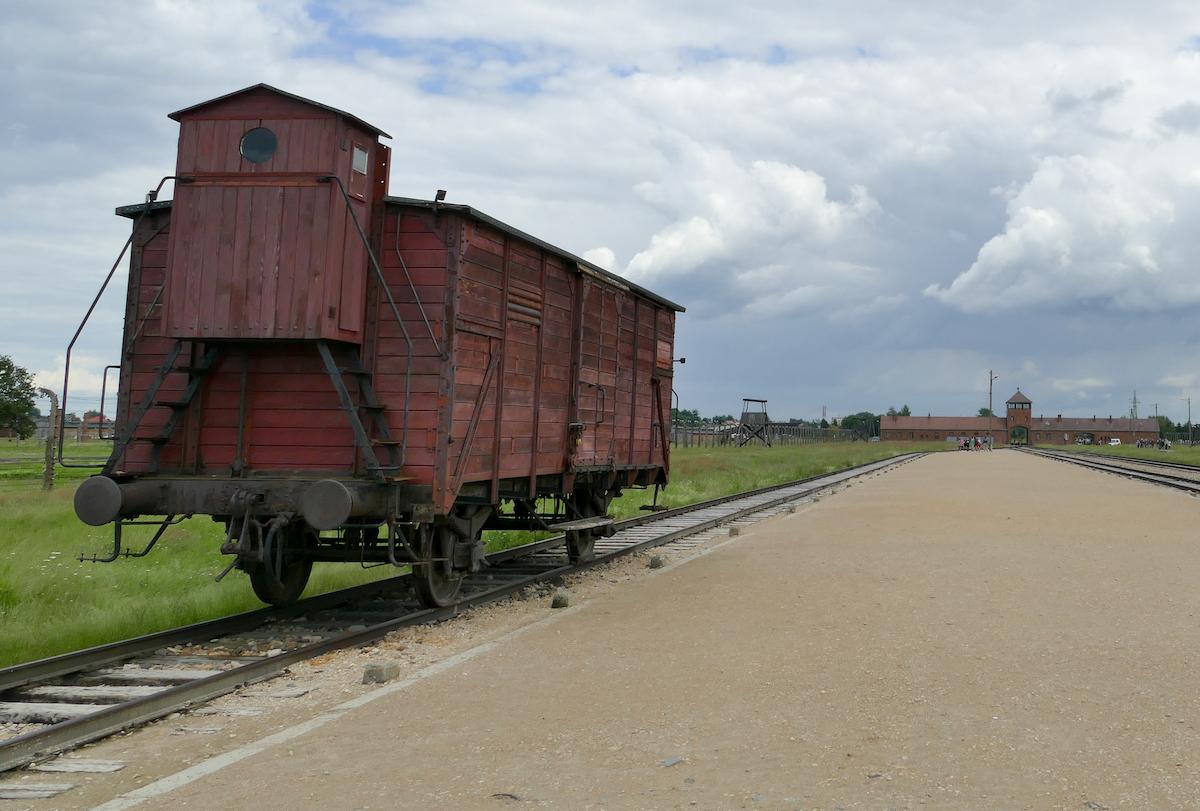 Birkenau, Transportwaggon