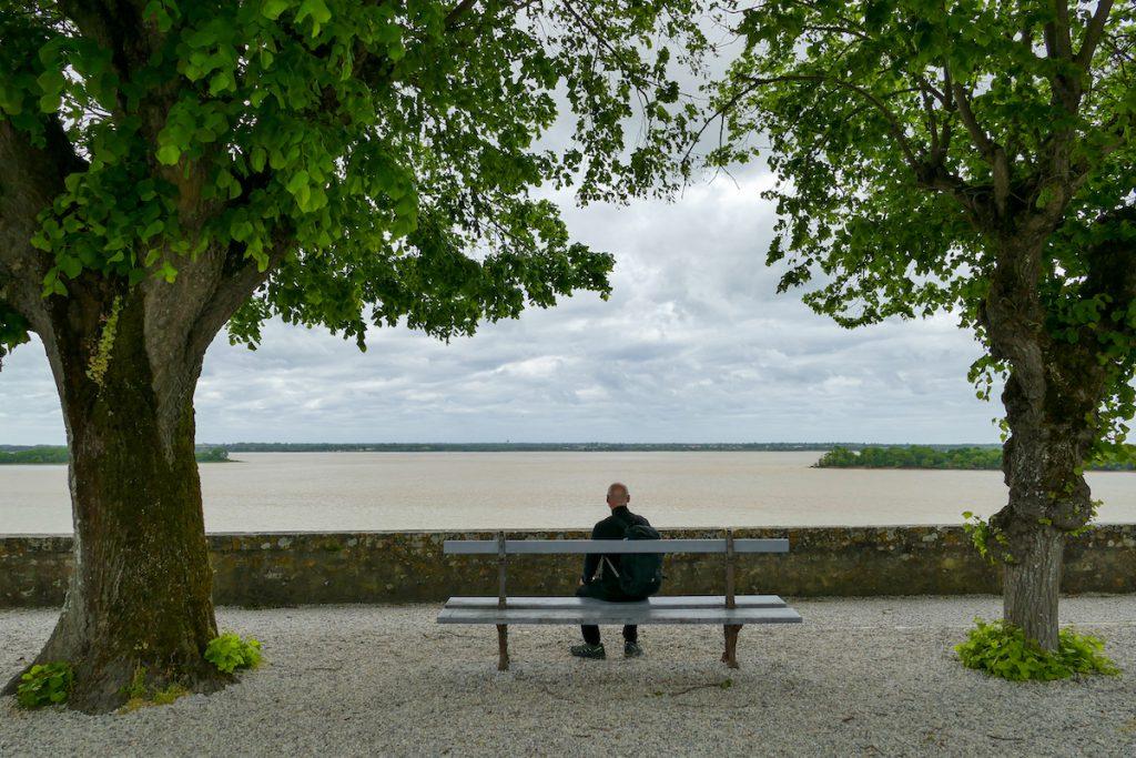 Blick auf die Gironde