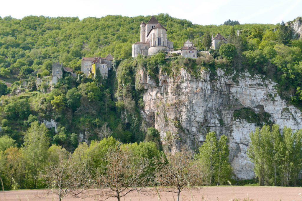 Blick auf Saint-Cirq-Lapopie