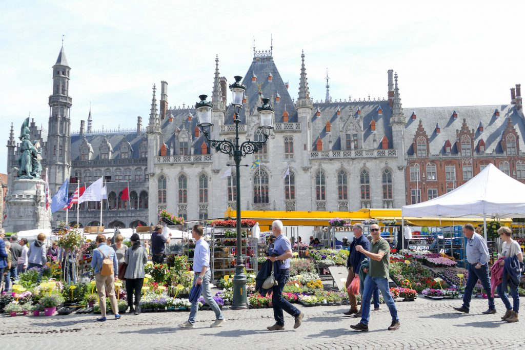 Bruegge, Marktplatz