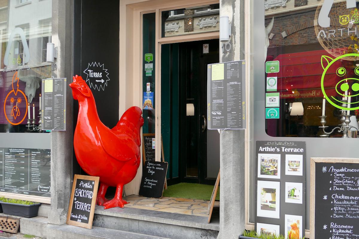 Bruegge, das kulinarische Angebot ist vielfaeltig