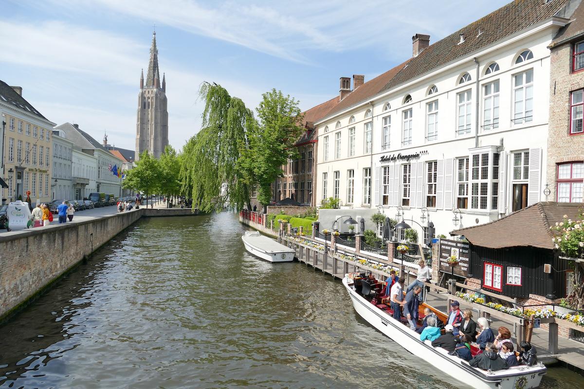 Bruegge, eine Besichtigung per Boot ist sehr empfehlenswert