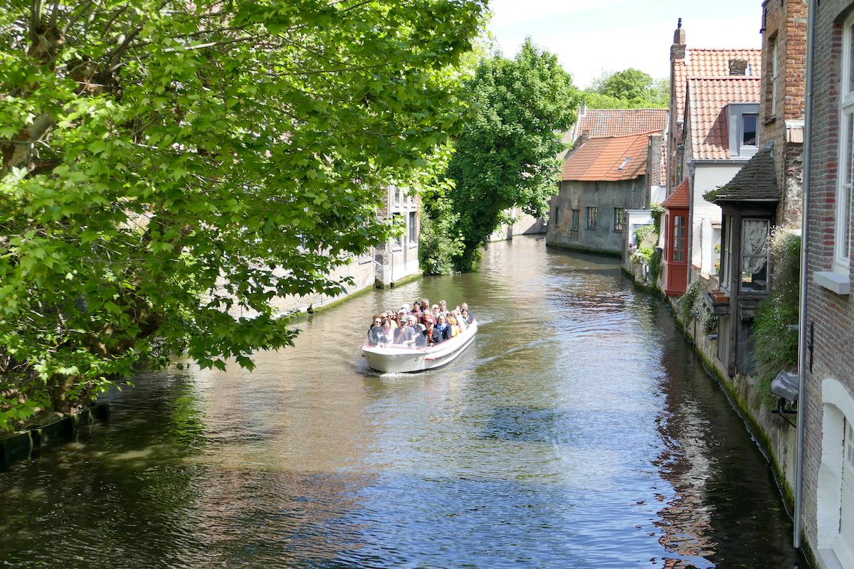 Bruegge, eine Bootsfahrt ist sehr empfehlenswert