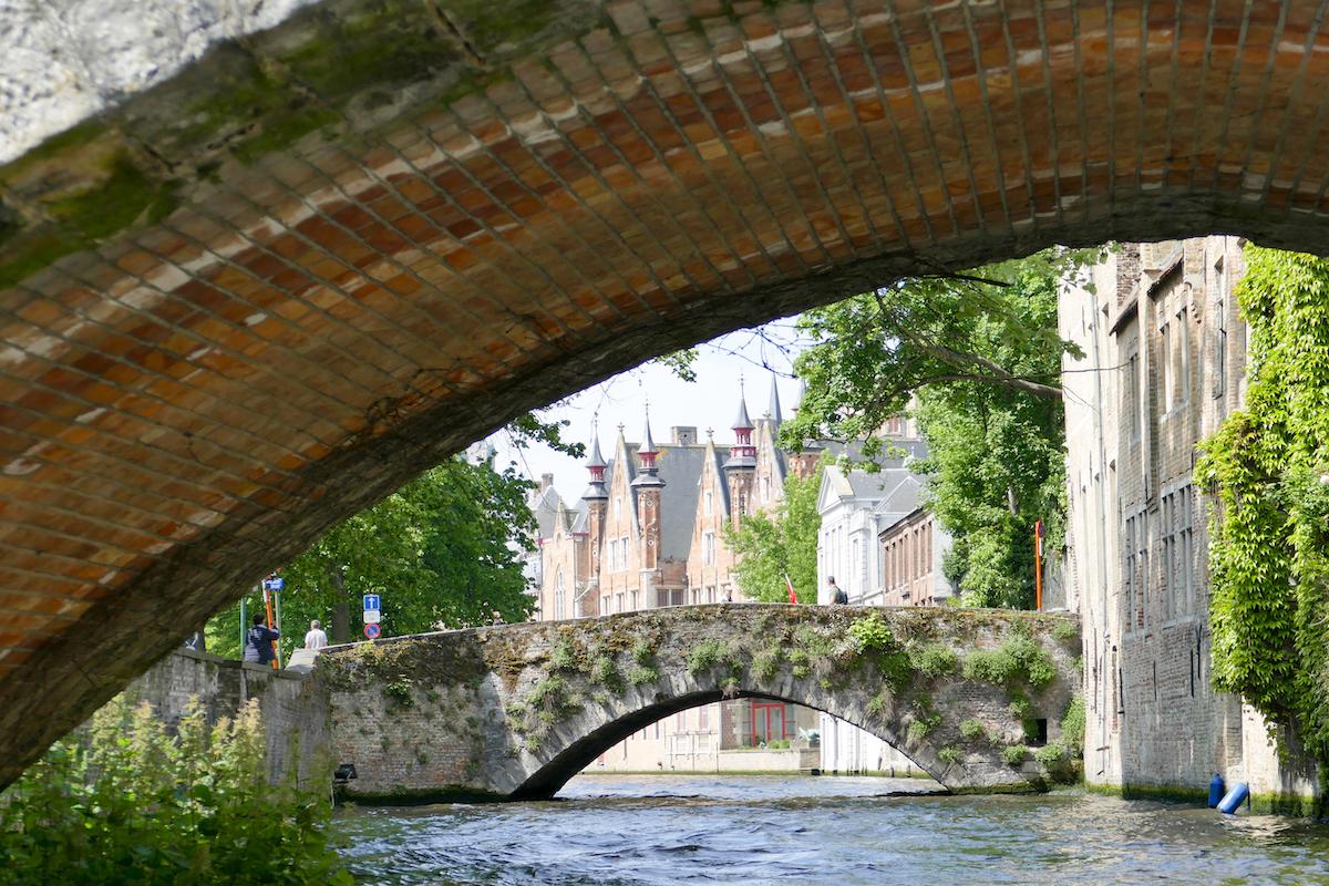 Bruegge, vom Boot aus gibt es ganz andere Perspektiven