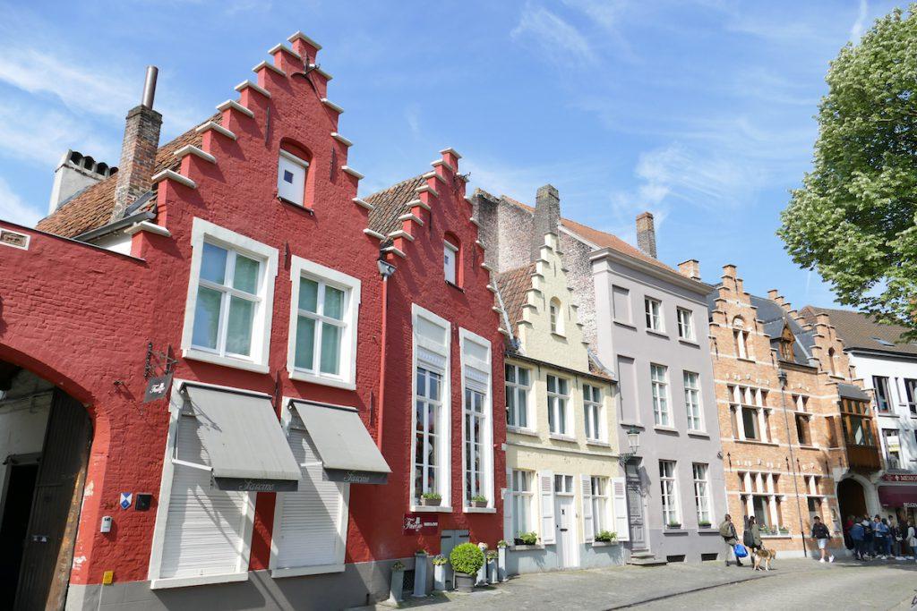 Bruegge, zu Fuss unterwegs in Bruegge