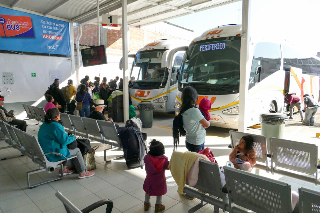 Bus Station Periferico in Oaxaca