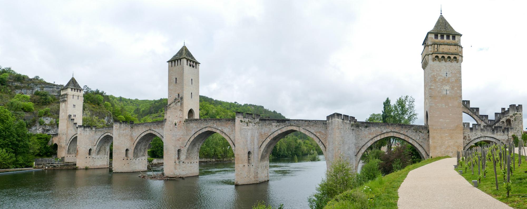 Cahors, Brücke über den Lot