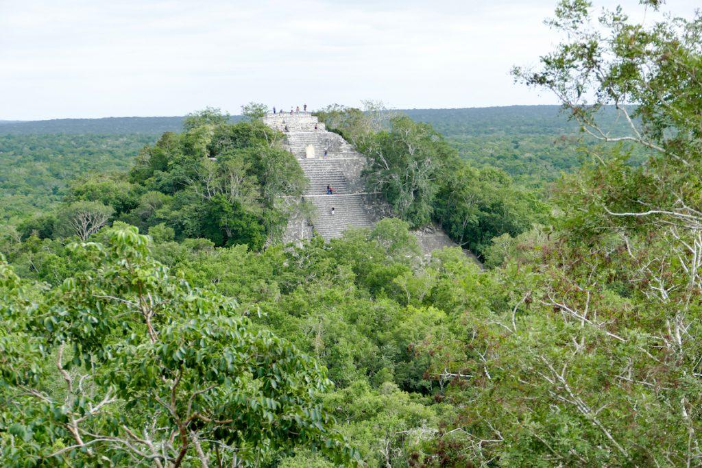 Calakmul, Blick auf Structure I