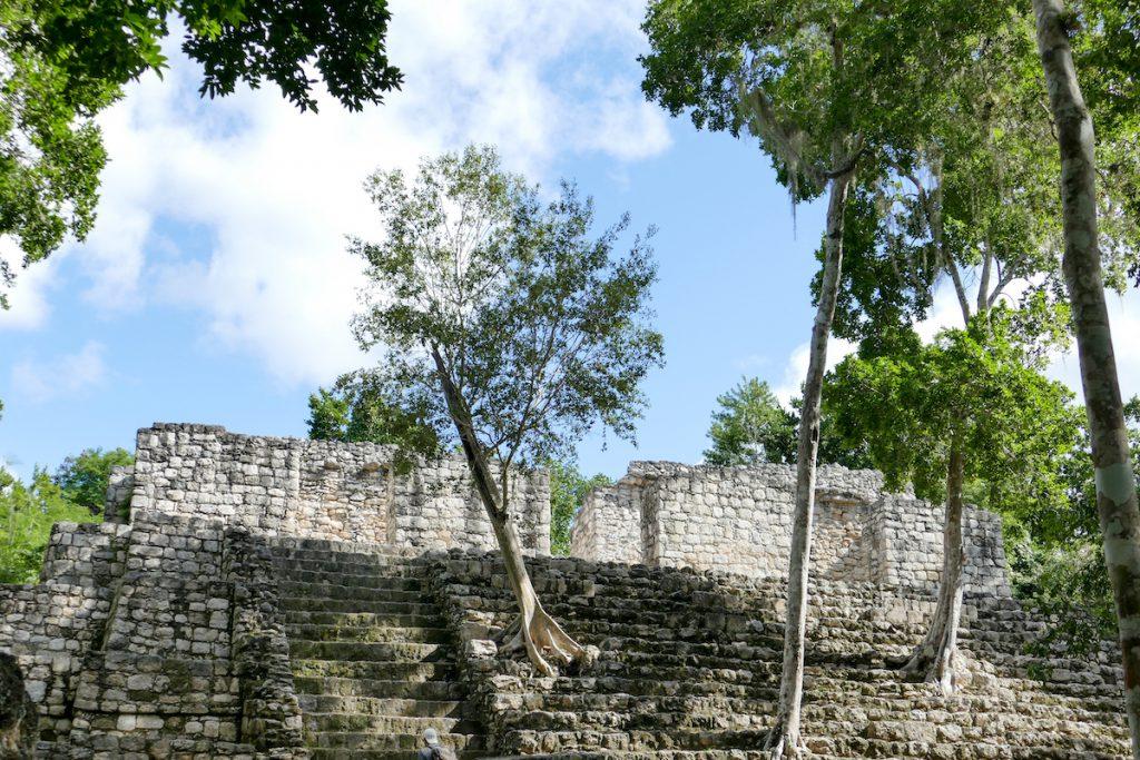 Calakmul, sehr atmosphaerisch