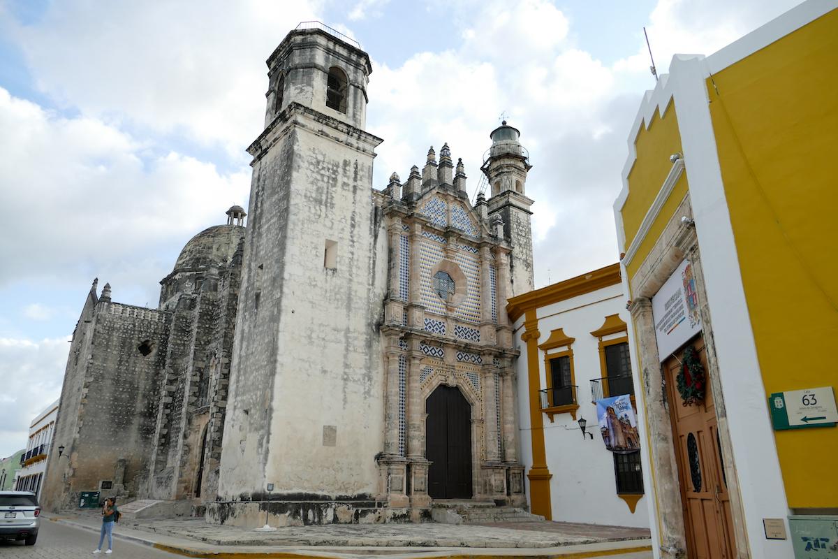 Campeche, das Kloster Ex-Templo de San Jose besitzt sogar ein Leuchtfeuer