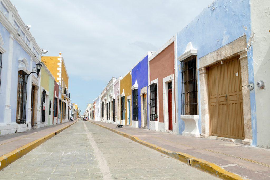 Campeche, die vielen Farben, ein Traum