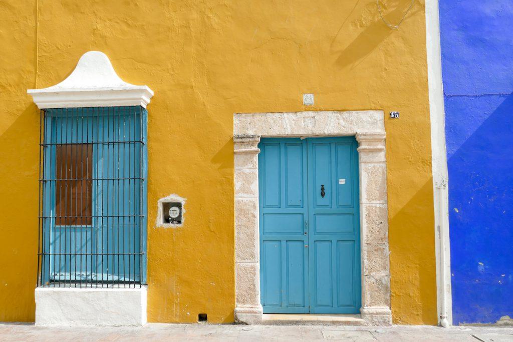 Campeche, wir lieben diese Farbigkeit