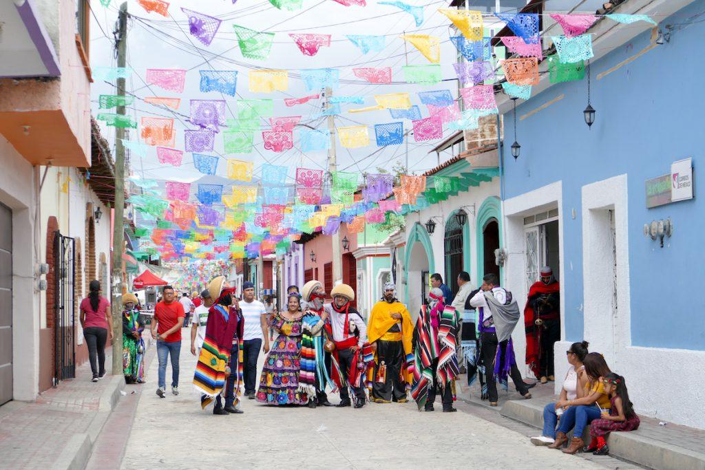 Chiapa de Corzo, Festtagsstimmung
