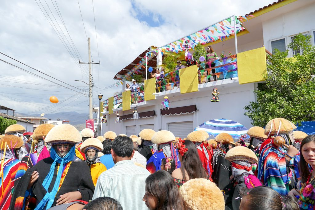 Chiapa de Corzo, Umzug Fiesta Grande de Enero