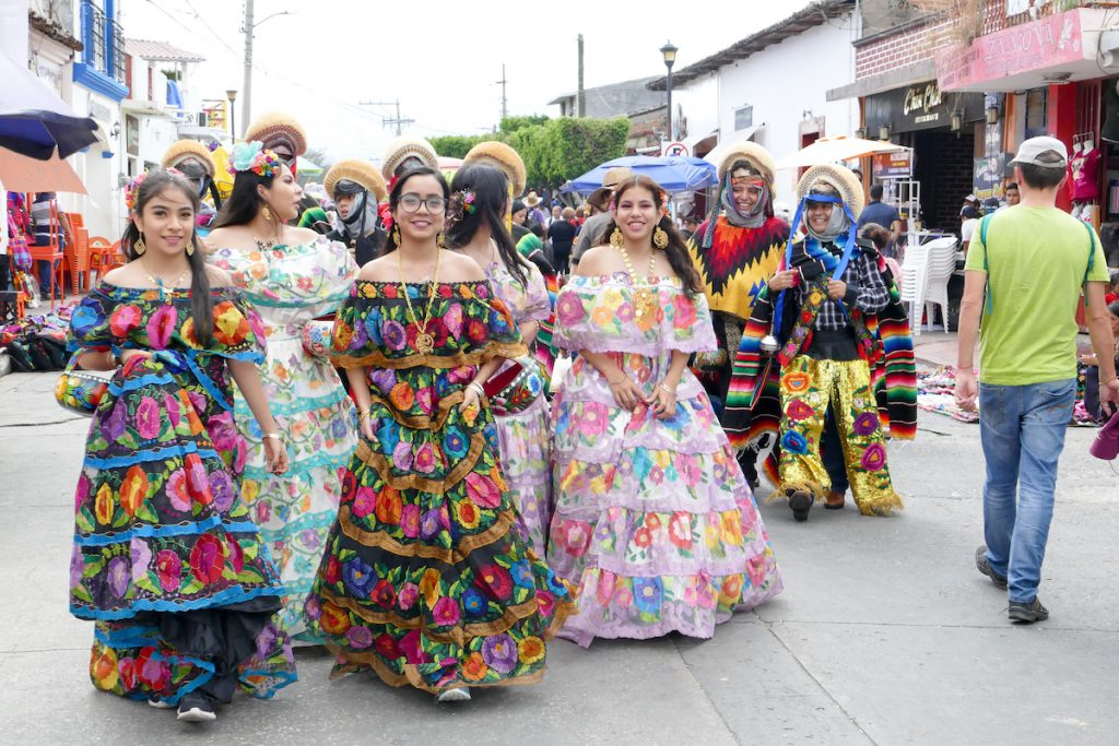 Chiapa de Corzo, ausgelassene Stimmung