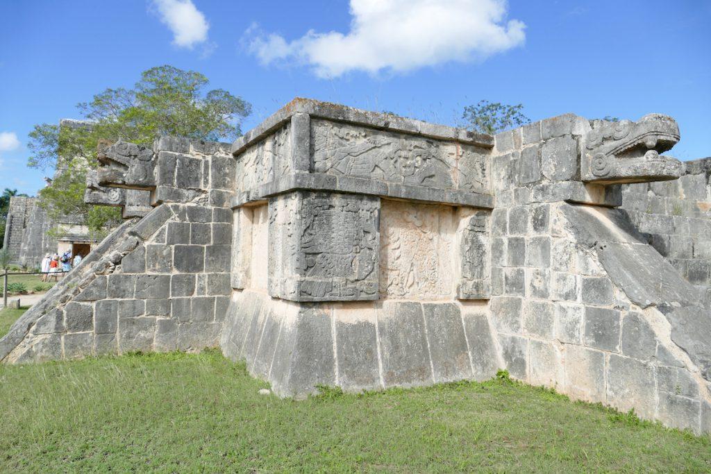Chichen-Itza, Platform der Adler und Jaguare