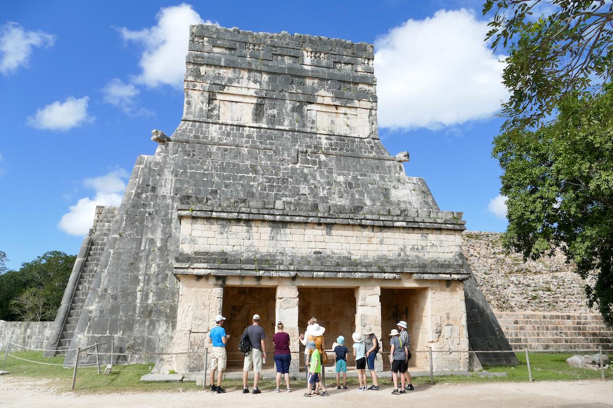 Chichen-Itza, Tempel der Jaguare
