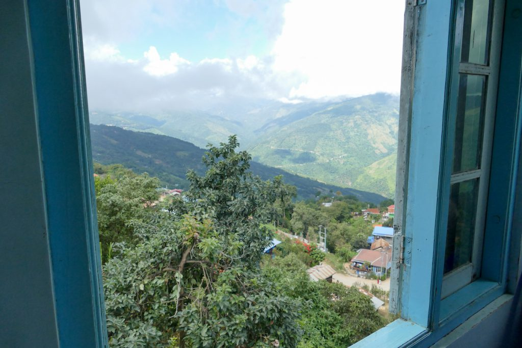 Chin State, Blick auf Mindat und Umgebung