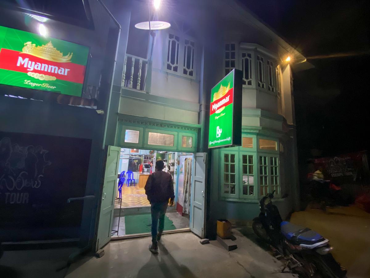 Chin State, Mindat, unser Restaurant