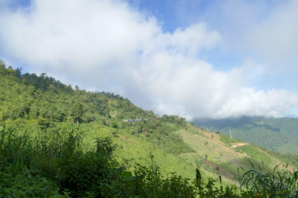 Chin State, Tourbeginn, mit dem Motorrad zum Ausgangspunkt