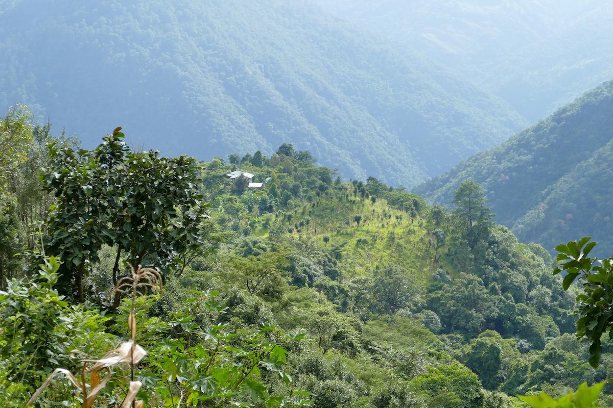 Chin State, Wanderung Tag 1, herrliche Ausblicke
