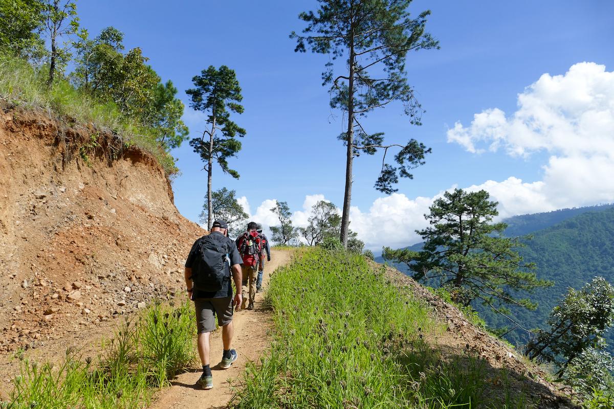Chin State, Wanderung Tag 2, wir haben tolles Wetter