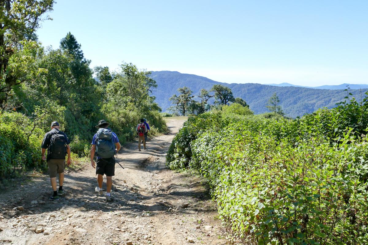 Chin State, Wanderung Tag 1