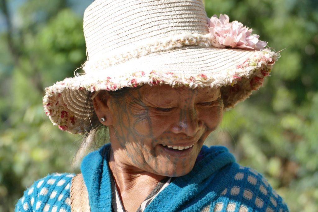 Chin State, Wanderung Tag 3, bezauberndes Laecheln