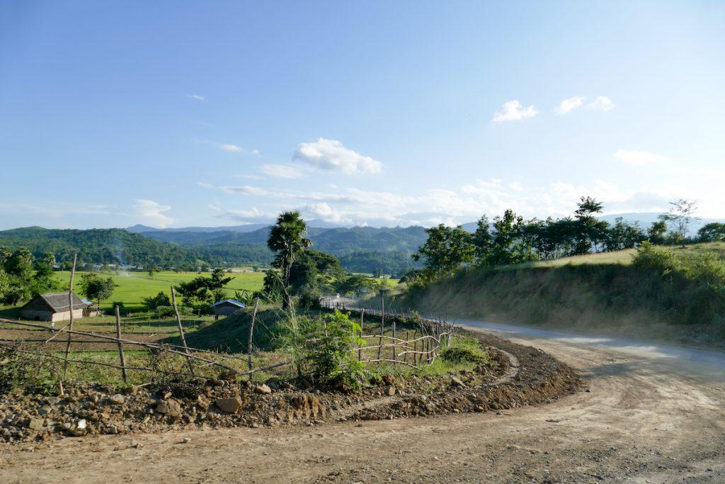 Chin State, auf dem beschwerlichen Weg nach Mindat
