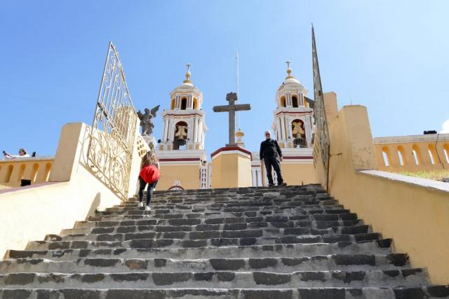 Cholula, Kirche Nuestra Senora de los Remedios