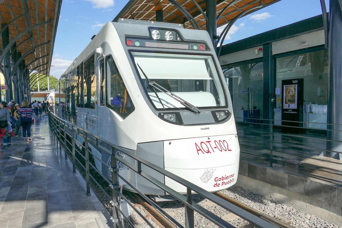 Cholula, Touristenbahn Puebla – Cholula