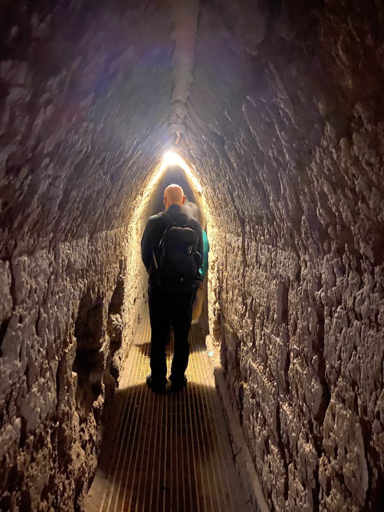 Cholula, im Tunnelsystem unter der Pyramide