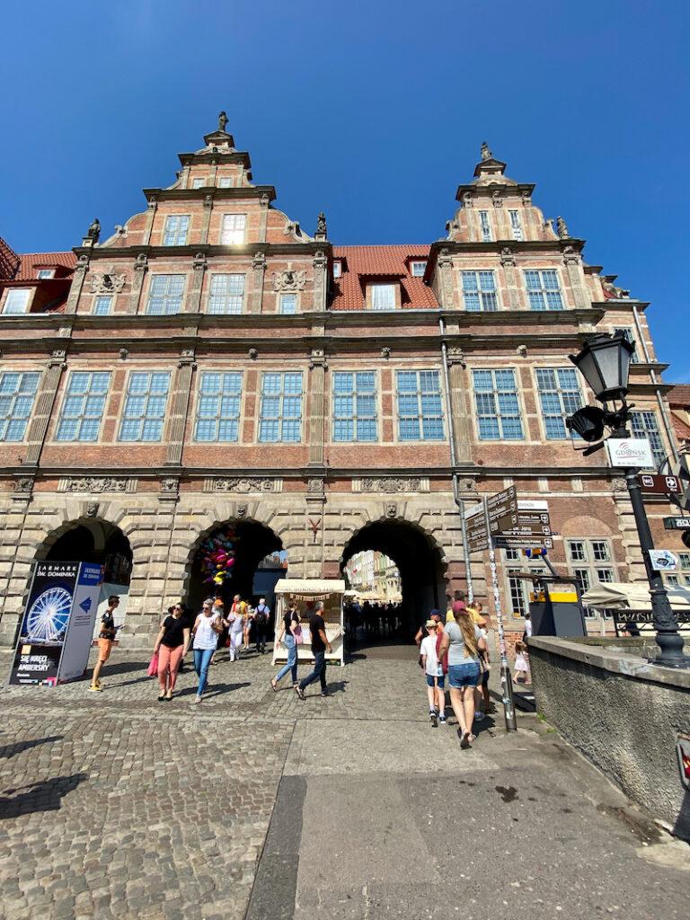 Danzig, Altstadt, Gruenes Tor