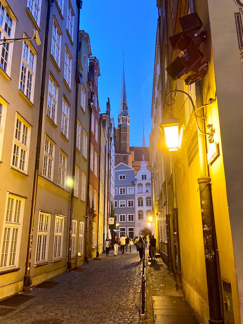 Danzig, Altstadt, malerische kleine Gassen