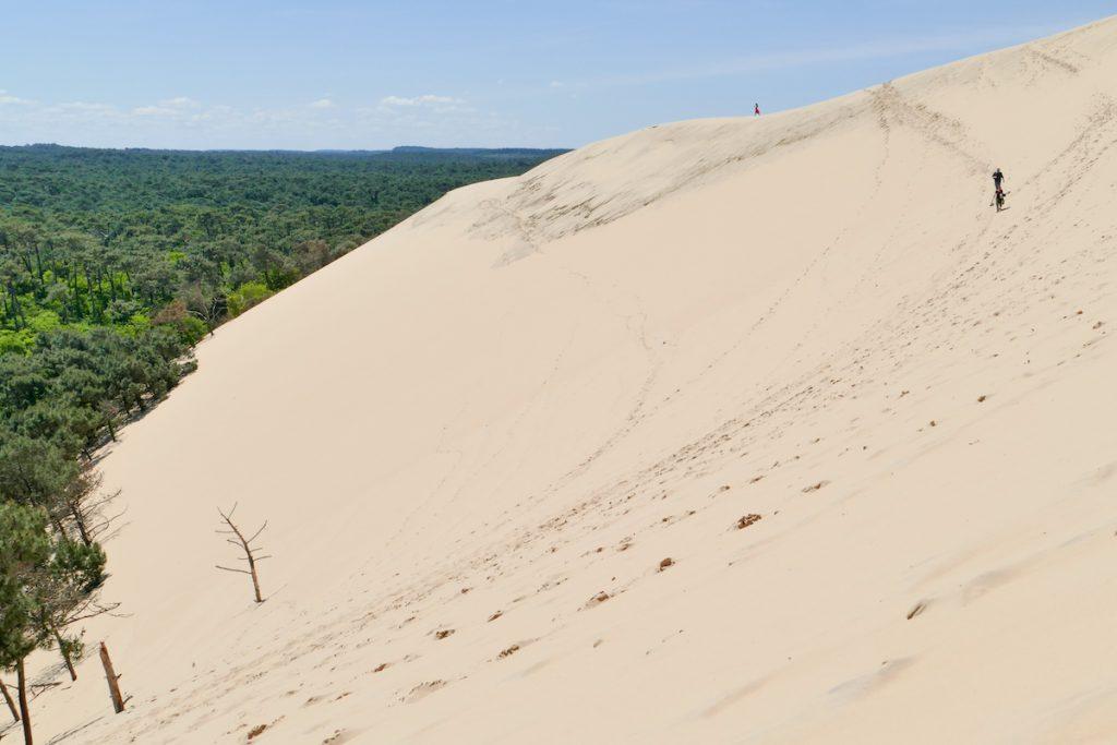 Spass auf der Dune de Pilat