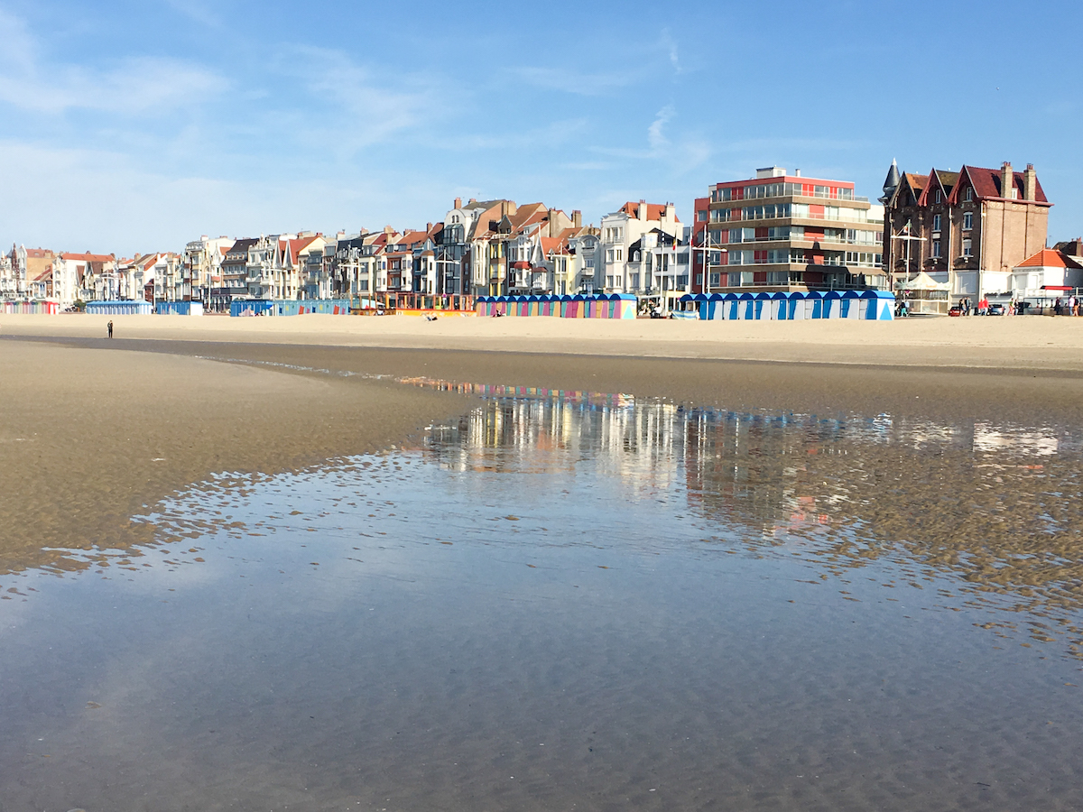 Dunkerque, am Strand