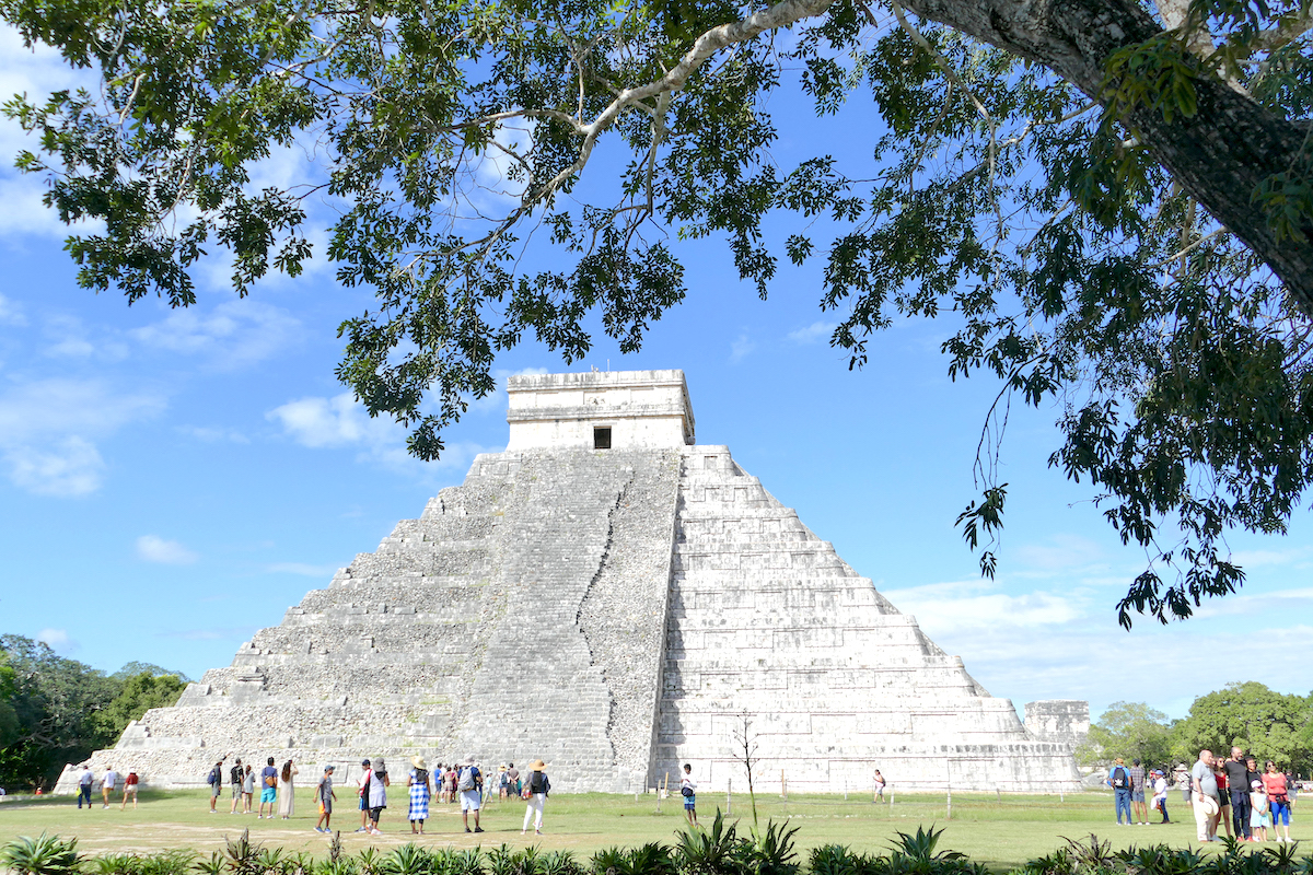 El Castillo in Chichen-Itza