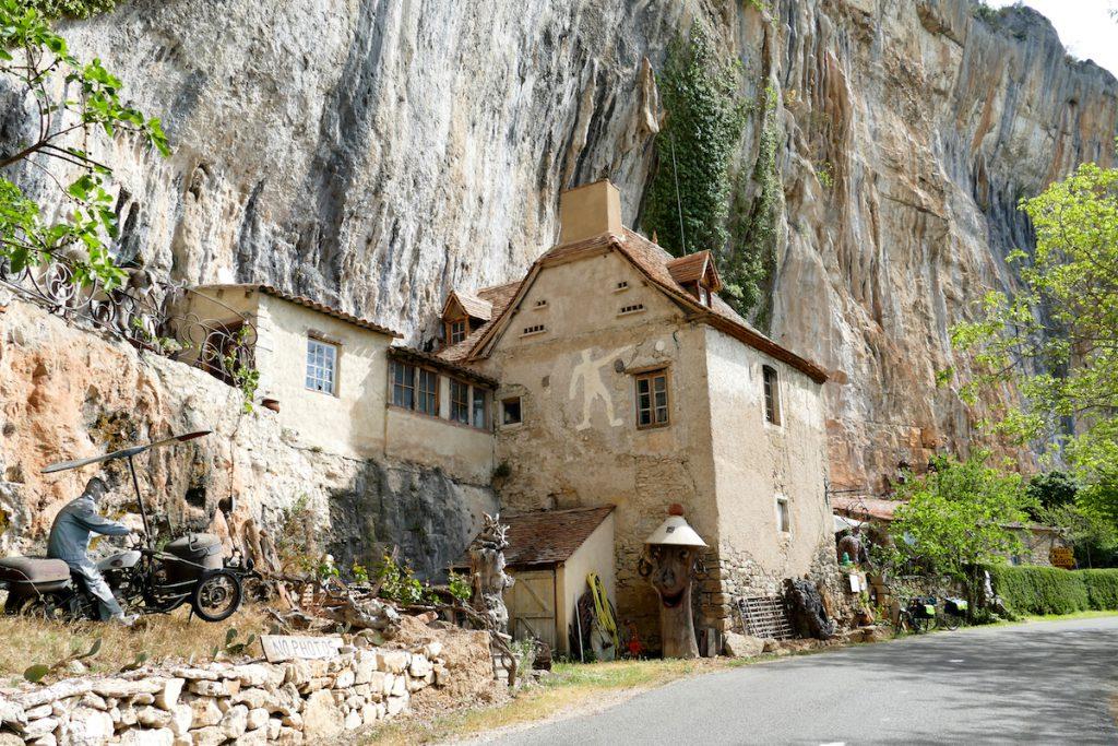 Ein typisches Troglodythen-Haus
