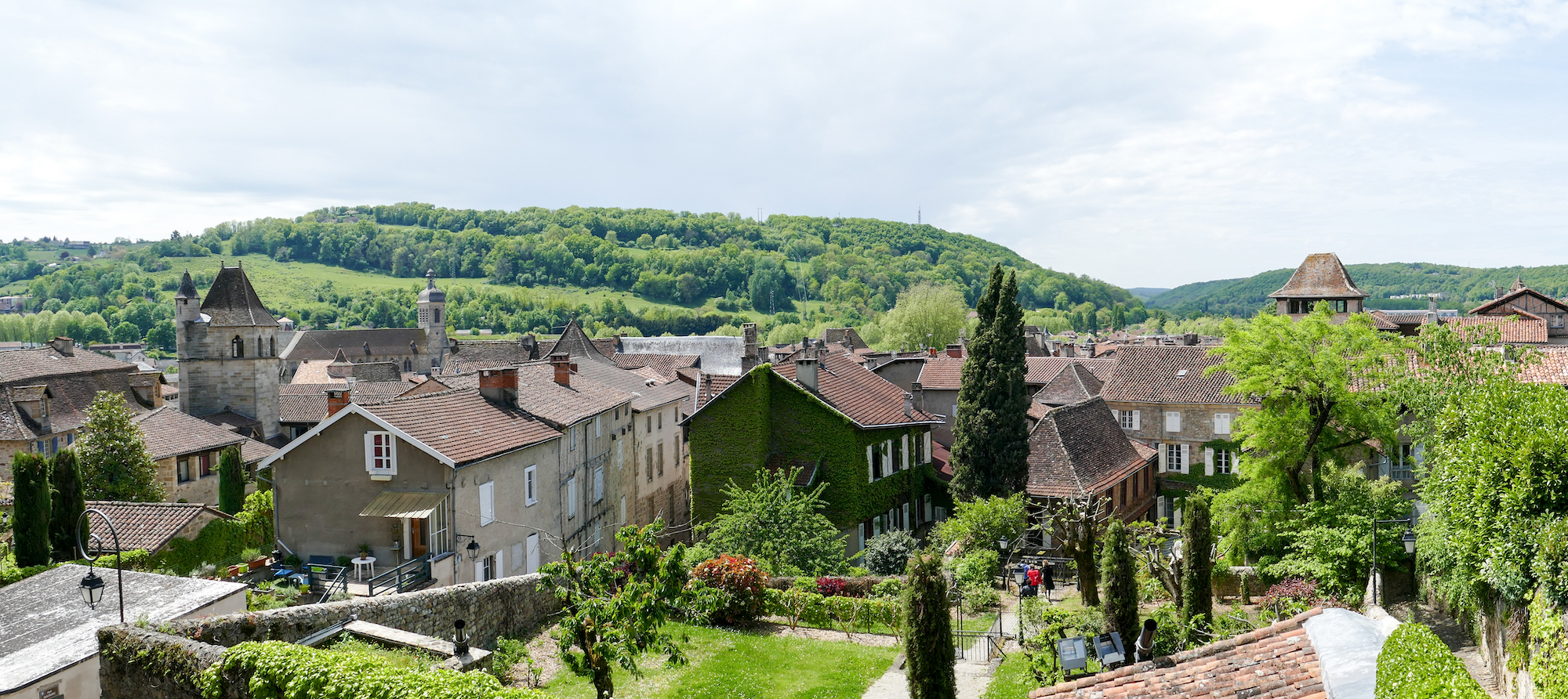 Figeac, Blick auf die Stadt