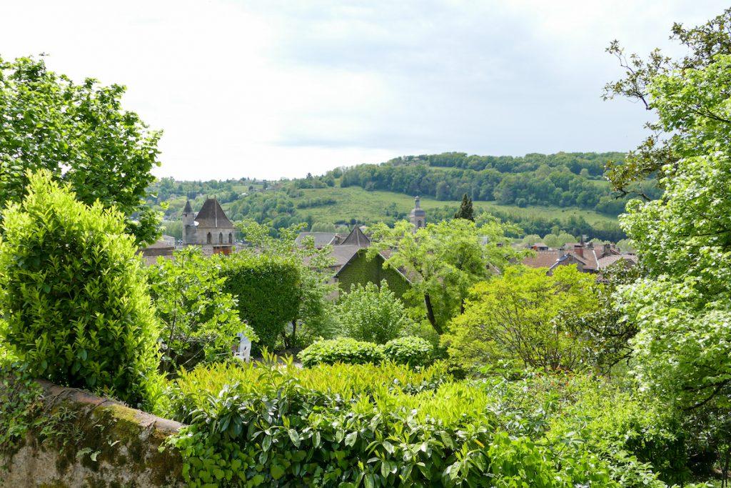 Blick aufs Tal des Lot