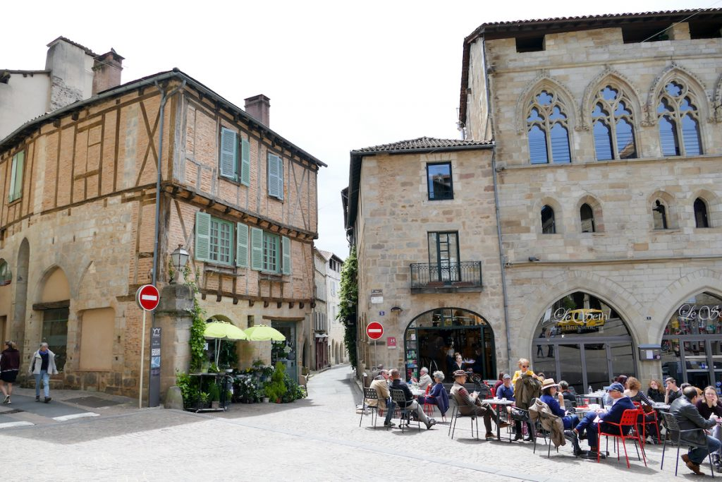 Figeac, Place Champollion